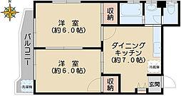 高田ビル[4階]の間取り