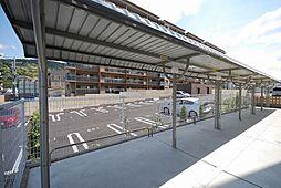 グランデスカイ空港南の駐輪場
