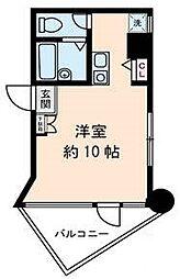 東京都江戸川区西小岩1の賃貸マンションの間取り