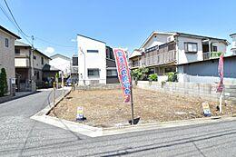 公道面角地 お好きなハウスメーカーで建てられます