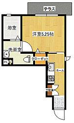 K-9[1階]の間取り