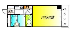 コーポチーマ[3階]の間取り
