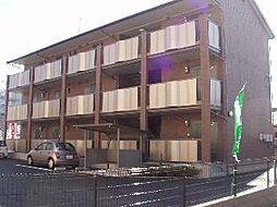 群馬県前橋市大友町3丁目の賃貸アパートの外観