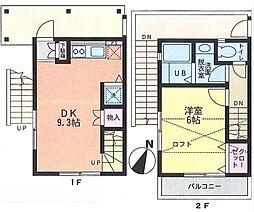 [一戸建] 神奈川県藤沢市湘南台5丁目 の賃貸【/】の間取り