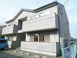 静岡県浜松市東区下石田町の賃貸アパートの外観