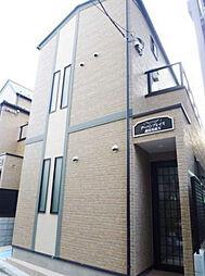 東京都新宿区高田馬場4丁目の賃貸アパートの外観