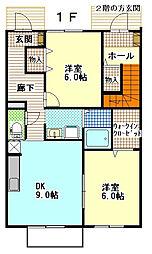 プリメーラ[1階]の間取り