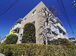 東京都世田谷区上祖師谷2丁目の賃貸マンションの外観