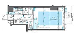ZOOM神宮前(ズーム神宮前)[8階]の間取り