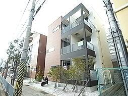 兵庫県神戸市垂水区海岸通の賃貸アパートの外観