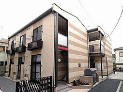 東京都荒川区荒川2丁目の賃貸アパートの外観