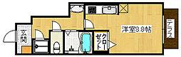 アファームド2[1階]の間取り