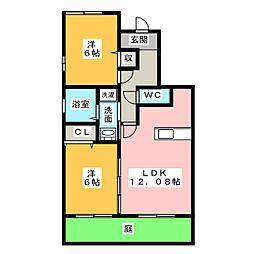 エモシオン[2階]の間取り