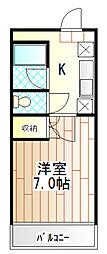 ライフフォーラム桜台[2階]の間取り