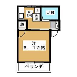 ボ・セジュール草薙[1階]の間取り