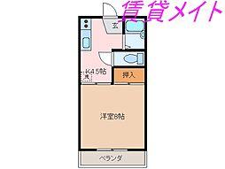 Je mappelle Nakazawa(ジュマペルナカザワ)[1階]の間取り