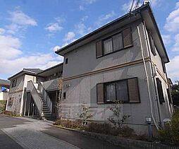 京都府京都市左京区岩倉東五田町の賃貸アパートの外観