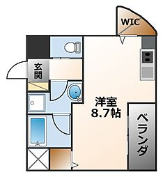 Grandi甲子園ParkV[2階]の間取り