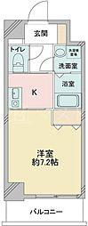 大阪府大阪市旭区高殿3の賃貸マンションの間取り