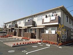 愛媛県松山市畑寺1丁目の賃貸アパートの外観