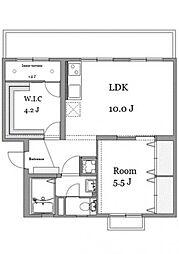 第2ヒロカネビル[3階]の間取り