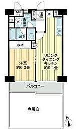 東京都世田谷区玉川台1丁目の賃貸マンションの間取り