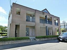 滋賀県甲賀市土山町北土山の賃貸アパートの外観