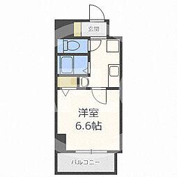 SERENA大阪天満宮(セレナ) 9階1Kの間取り