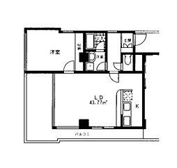 ブルックゲートハウス[4階]の間取り