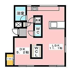 ARTE新清洲[2階]の間取り
