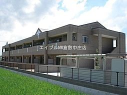 岡山県倉敷市福田町古新田丁目なしの賃貸マンションの外観