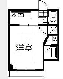 シティハウス京塚[302号室]の間取り