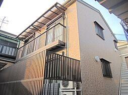 京都府京都市山科区御陵田山町の賃貸アパートの外観
