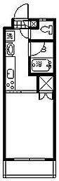 プチメゾン鶴島[110号室]の間取り