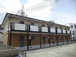 大阪府茨木市南安威2丁目の賃貸アパートの外観