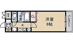 ノルデンハイム東三国2[8階]の間取り