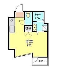 埼玉県朝霞市本町2丁目の賃貸マンションの間取り