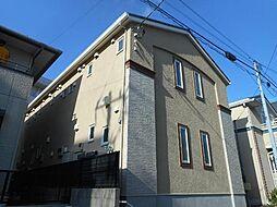 千葉県市川市新田5丁目の賃貸アパートの外観