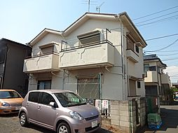 コーポひばりA[1階]の外観