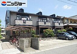 愛知県北名古屋市九之坪長堀の賃貸アパートの外観