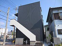 愛知県名古屋市中川区万町の賃貸アパートの外観