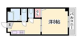 エスタール兵庫[2階]の間取り