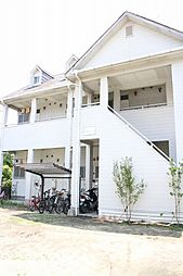 福岡県福岡市早良区西新7丁目の賃貸アパートの外観