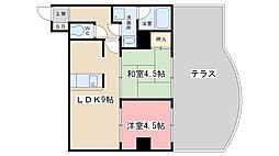 エクセルメゾン瀬田[301号室]の間取り