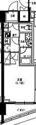東武亀戸線 曳舟駅 徒歩5分の賃貸マンション 4階1Kの間取り