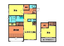 (仮)姫小川町新築アパートA棟[103号室]の間取り
