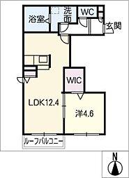 仮)篠目町新築AP[2階]の間取り