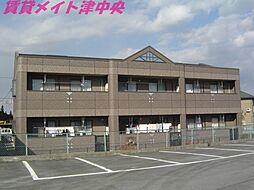 三重県津市久居明神町の賃貸アパートの外観