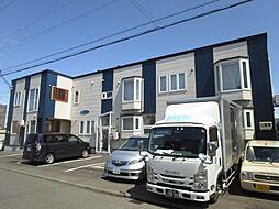 北海道札幌市北区拓北五条2丁目の賃貸アパートの外観