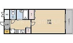 ビオス京橋[8階]の間取り